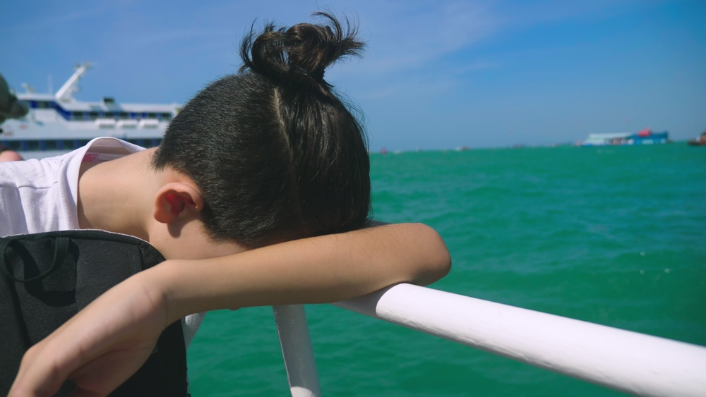 tactics limiting cruise ship seasickness